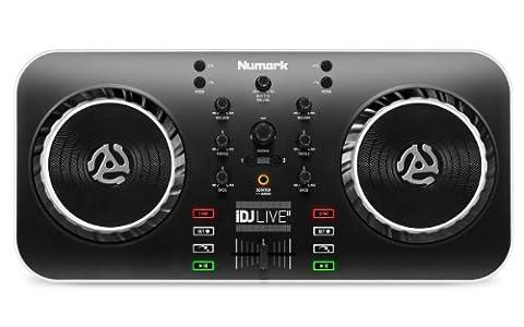 Numark iDJ Live II DJ Controller for Mac, PC, iPad,