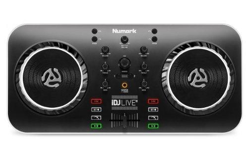 Numark iDJ Live II   Kompakter DJ Controller für iOS, Mac und PC Numark Dj Mixer