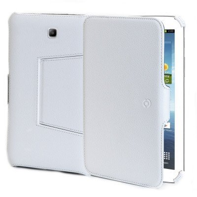 Celly Custodia a Libro per Samsung Galaxy Tab 3 10', Bianco