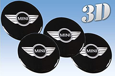 Wheel stickers Mini imitation all size Centre Cap Logo Badge