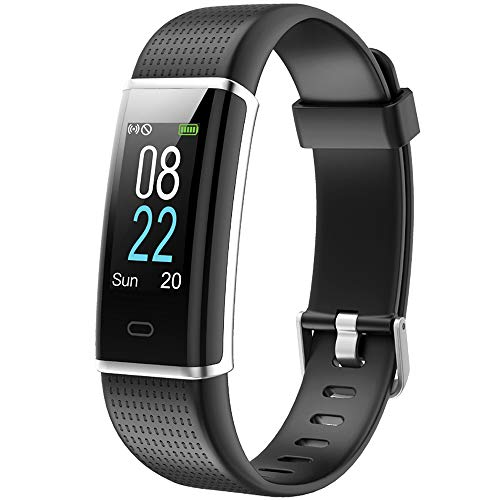 Willful Montre Connectée Bracelet Connecté Podometre Cardio Homme Femme Enfant Smart Watch Android iOS Etanche...