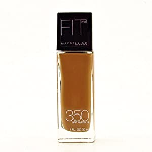Maybelline Fit Me! Liquid Foundation Caramel 350