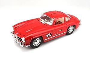 Bburago - Mercedes-Benz 300 SL (1954),  (18-12047), surtido: colores aleatorios
