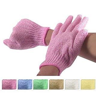 4 Stück Bad Peeling Handschuhe Duschhandschuhe Massage Scrubbing Körper-peeling Bad Dusche