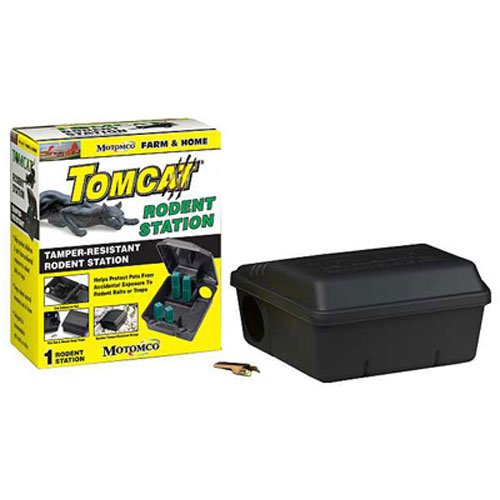 MOTOMCO Tomcat Mouse and Rat Rodent Station by Motomco (Station Mouse)