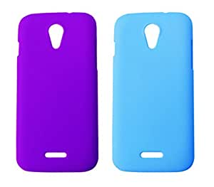 Winsome Deal 2 Pieces of Exclusive Quality Hard Back Cover Case For Micromax Canvas 2.2 A114