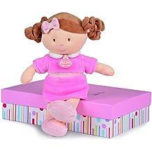 Doudou et Compagnie dc2773les Demoiselles de doudou rosa muñeca (tamaño mediano)