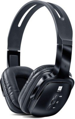 Iball Exquisite Design Pulsebt4 Neckband Wireless Headphones With Mic,Black