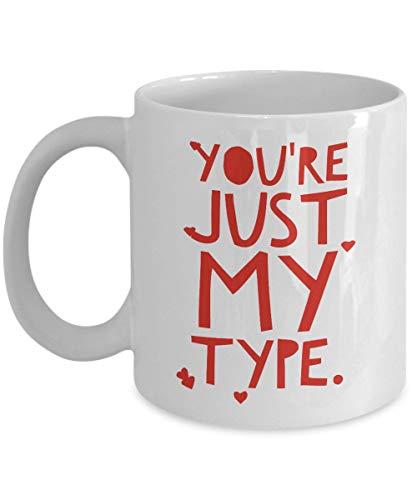 Youre My Type Phlebotomy Kaffeetasse, Medizinisches Labaty-Techniker, Techniker, Histologie, Hämatologie, Valentinstags-Geschenk