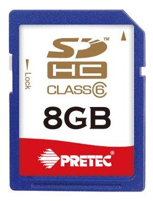 PRETEC Secure Digital High capacity Card 8GB
