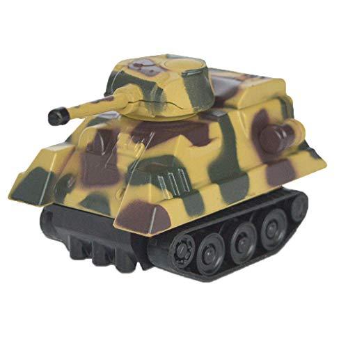 Jamicy Magischer induktiver Panzer [folgt schwarzer Linie] Magisches Spielzeugauto für Kinder & Kinder, pädagogische Puppen, Weihnachtsgeburtstagsgeschenk für Kinder (Tarnung)