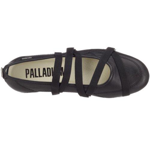 Palladium Rubber Kid Nap, Ballerines fille Noir - V.9