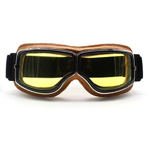 WENDAN Brille Skifahren Reiten Motorrad staubsichere Ski Sonnenbrillen Motocross Brille Winddicht Cross Country Brille, E