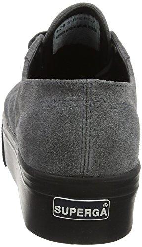 Superga Damen 2790 Sneaker Suew Grigio (pietra Grigia)