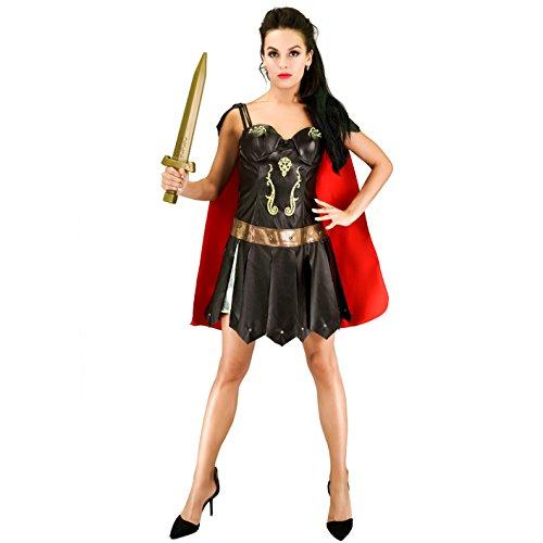 SEA HARE Erwachsenes sexy römisches Krieger-Frauen-Kostüm (S)