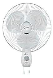 Orient Electric Snowfall 16WB01 400mm Wall Fan (White)