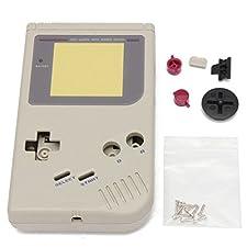 Housing shell sostituzione completa console classico Nintendo Game Boy (frontale, schermo, pulsanti, nascondere la batteria ...)