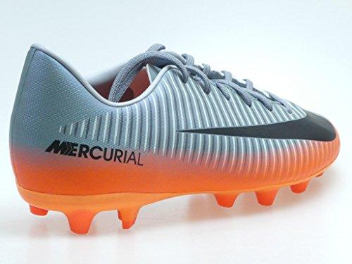 Nike, Scarpe da calcio bambini COOL GREY/MTLC HEMATITE-WOLF GREY