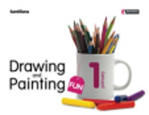 Drawing & painting fun student's book per la scuola elementare con cd - rom: drawing and painting fun 1 primary - 97884