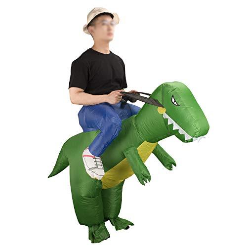 THEE Disfraces Inflable de Dinosaurio Traje Hinchable para Halloween