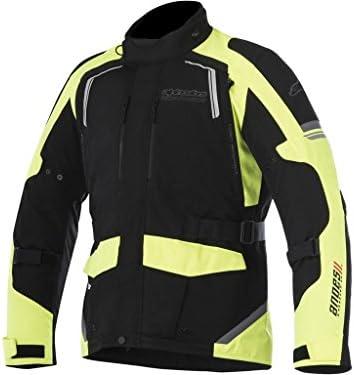 Alpinestars–Motocicleta Chaquetas–Alpinestars Andes V2DRYSTAR Negro Amarillo Fluo
