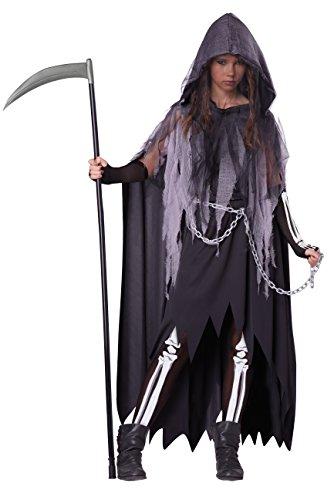 California Costumes Miss Grim Reaper Teen Halloween Costume XL (Teen Halloween Costume)