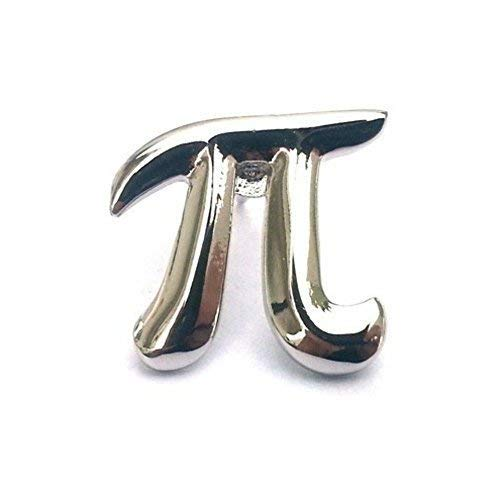 Minimum Mouse Pi Symbol Metall Revers-Anstecknadel