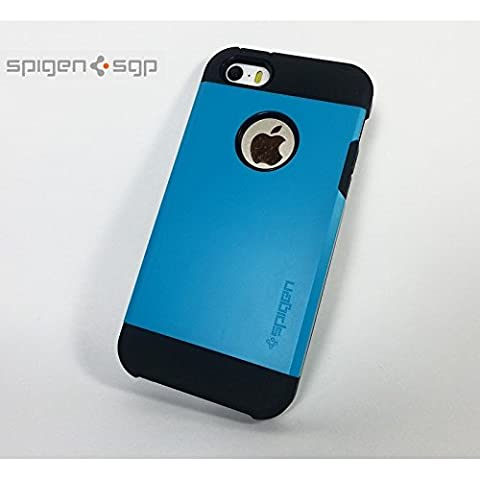 Case Replica SGP Spigen Tough Armor iPhone 5/5S/SE – Blue
