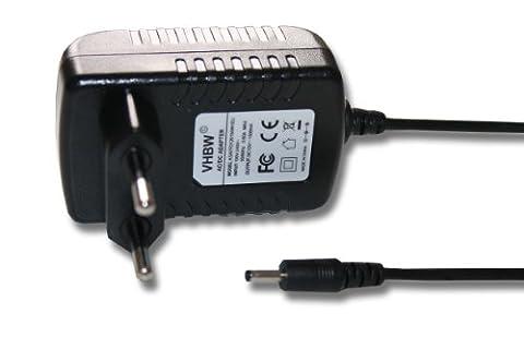 vhbw Chargeur avec adaptateur secteur + câble pour Acer Iconia Tab W3-810, A100, A101, A200, A210, A211, A500, A501, Packard Bell Liberty Tab
