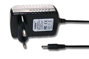 vhbw 220V Netzteil Ladegerät Ladekabel 18W (12V/1.5A) mit Rundstecker für Tablet Acer Iconia Tab W3-810, A100, A101, A200, A210, A211, A500, A501, u.a