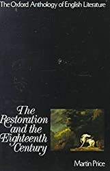 [The Restoration and the Eighteenth Century] (By: Martin Price) [published: August, 1973]