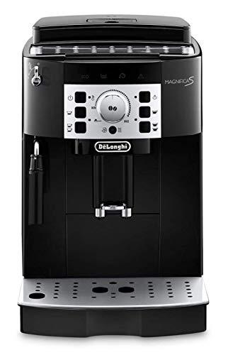 DeLonghi ECAM 22.110.B Kaffee-Vollautomat (1450 Watt, 1,8 Liter, 15 bar, Dampfdüse) schwarz