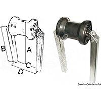 Rullo centrale piccolo tubo 40 x 40 mm English: Small central roller pipe section 40 x 40 mm