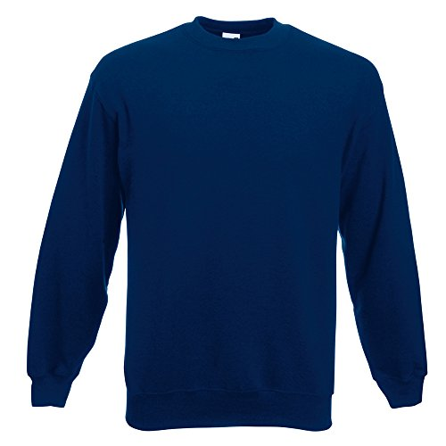 Fruit of the Loom Herren Sweatshirt marineblau