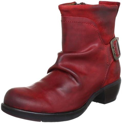 Fly London Mel, Damen Chukka Boots, Rot (Red 006), 38 EU (5 Damen UK)