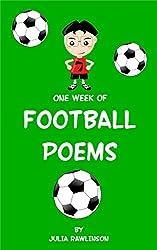 One Week of Football Poems (One Week of Poems Book 5)