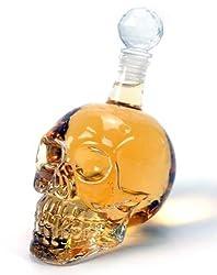 Biggest Skull Crystal Head Bottle Doomed Glass Decanter Whisky Vodka Cold drink- 1000 ml