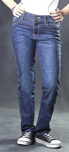 Damen DuPont™ KEVLAR® Motorrad Jeans Hose Motorradjeans mit 4x Protektoren (W30/L31)