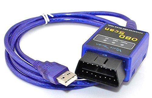 SaySure - MINI ELM327 V1.5 ODB2 OBD II USB Car Scanner