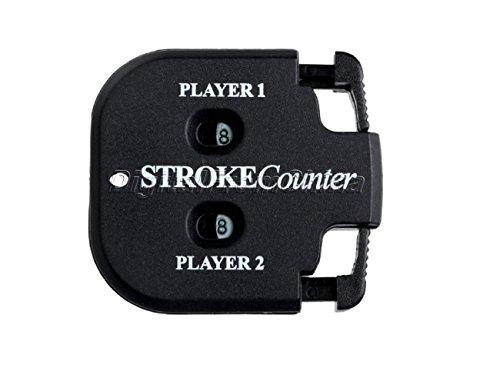Preisvergleich Produktbild LL-Golf ® Schlagzähler / Zähler für 2 Personen / Score Counter / Zähler / Scorer / Stroke Counter