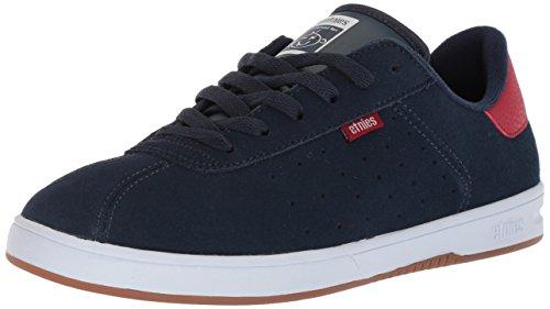 Etnies Herren The Scam Skate-Schuh, Blau - Navy/Rot/Weiß - Größe: 41