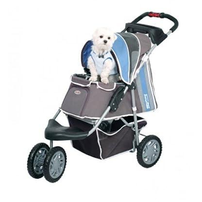 Pet Stroller Ips-09/Blue, dog carrier, trolley, Trailer, Innopet, Buggy First Class. Foldable pet buggy, pushchair, pram… 2