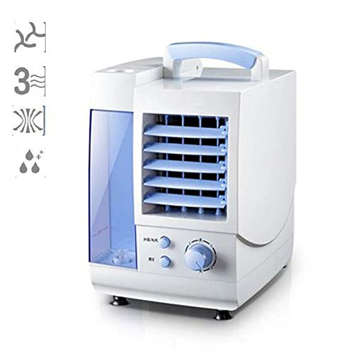 LYzpf Climatiseurs Portables Mini Refroidisseur d'air Ventilateur Air Humidificateur Purificateur Rafraichisseur 3 Vitesses pour Maison Bureau