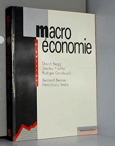 Macroconomie, 2e dition