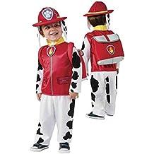 Disfraz Marshall Patrulla Canina infantil - Único, 3-4 años