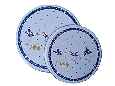 Hob Cover Plates Utensils Kitchen Motif 4 He Set