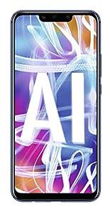 HUAWEI Mate20 lite Dual Nano-SIM Smartphone BUNDLE (16 cm (6.3 Zoll), 64 GB interner Speicher, 4 GB RAM, 20 MP + 2 MP Kamera, Android 8.1, EMUI 8.2) Sapphire Blue + gratis Intenso 16 GB Speicherkarte [Exklusiv bei Amazon] - Deutsche Version