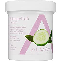 Almay Oil-free Eye Makeup Remover Pads 80 Pads