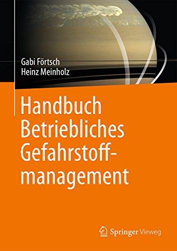 Handbuch Betriebliches Gefahrstoffmanagement -