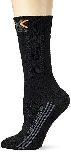 X-Socks chaussettes légères de trekking pour adulte funktionssocken isolant en laine mérinos pour femme